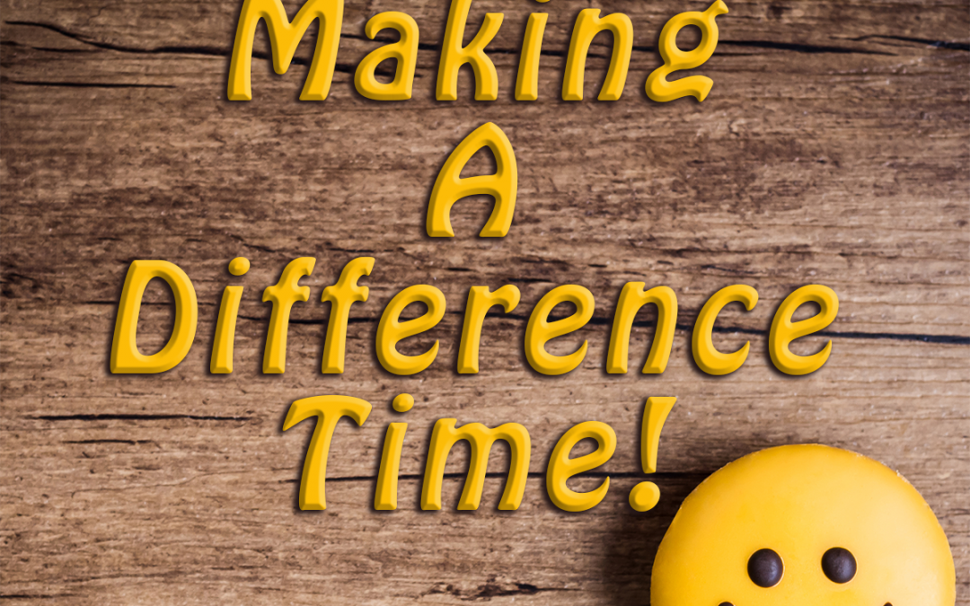 Do you ever wonder how you can make a difference?
